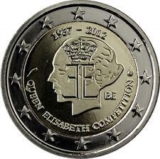 """2 euro commémorative Belgique 2012 """" Elisabeth """"  NEUVE UNC"""