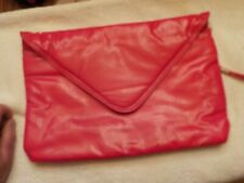 SHINEY RED  EVENING LADIES HAND BAG