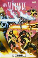 New Mutants by Zeb Wells: The Complete Collection TPB Marvel NEW with remainder