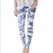 Mother Jeans Size 27 The Looker Ice Breaker Blue Tie Dye Stretch Skinny Pants
