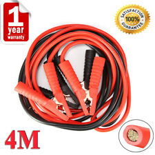 4M 2000AMP Heavy Duty Jump Leads Battery Start Booster Cables Car Van Truck UK