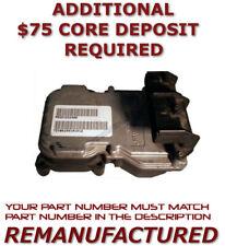 REBUILT 99-01 DODGE DAKOTA DURANGO 4X4 ABS ANTI-LOCK BRAKE MODULE 52010213AH