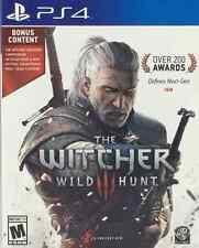 Witcher Wild Hunt PS4 + BONUS CONTENT