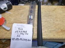 FORD Granada 2 MK2 Stoßstange Gummileiste vorne mitte schwarz silber 1575888 NEU