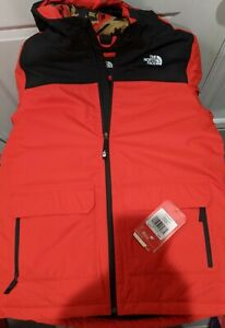 The North Face Boys Freedom Insulated Jacket Fiery Red Size XL Brand New