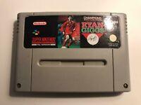 Champions World Class Soccer: Ryan Giggs (Nintendo SNES) - CARTRIDGE ONLY