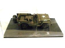 New Ray Toys Speedy Power Willys Army Jeep w/Display Kit