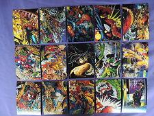 SPIDERMAN THE MCFARLANE ERA COMPLETE 90 CARD SET COMIC IMAGES 1992