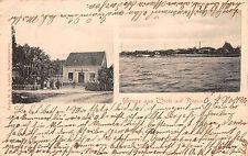 Wiek su Rügen Grande Magazzino Geschäftsladen Cartolina 1903