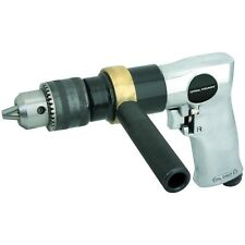 "1/2"" REVERSIBLE AIR DRILL 700 RPM 90 PSI AUTO BODY METAL WOOD WORKING HEAVY DUTY"