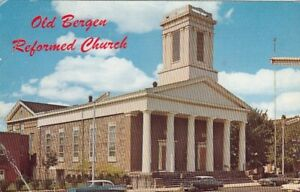 Jersey City, Old Bergen Reformed Church glum 1960? G5321