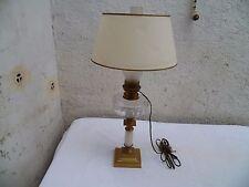 Ancienne Lampe à Pétrole Électrifiée XIXème siècle