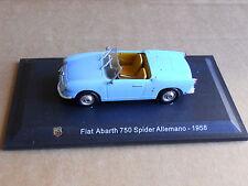 Leo Models CAR DIE CAST ABARTH 1:43 NEW - FIAT ABARTH 750 SPIDER 1958  [MV-2 ]