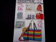 Butteric Pattern Uncut Backpack Duffle Bags Tote Briefcase Handbag Belt Bag 6678