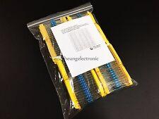 80value 1/2W metal film resistor 1600pcs Assortment Kit 0.1 ohm - 4.7m ohm