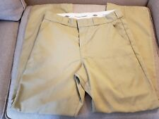 DICKIES Work Pants Mens 34/34 Relaxed Fit Straight Leg Cell Pocket