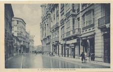 Tarjeta Postal. 9. Albacete. Calle Marqués de Molins.