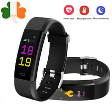 Smart Watch Fitness Tracker Smartband Blood Pressure HeartRate Wristband Android