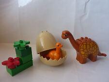 LEGO Duplo Dinowelt Set 5596 - Langhals Dinosaurier - orange - Dino Geburtstag
