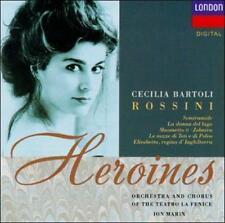 Rossini Heroines (CD, Feb-1992, London) Cecilia Bartoli Ion Martin Pre Owned