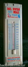 Paul Bunyan Logging Camp Thermometer All You Can Eat Family Dining Minocqua Wis