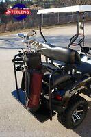 Universal Golf Bag Holder Bracket Attachment For Golf Cart Rear Seat