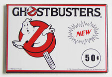 Ghostbusters Ice Cream FRIDGE MAGNET (2 x 3 inches) sign popsicle movie wrapper