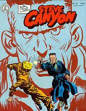 STEVE CANYON #14 by Milton Caniff (1986) Kitchen Sink Comics magazine FINE