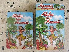 Hawaii Hula Girl Poker Playing Cards Casino 50s Rockabilly Tiki Kustom Kulture