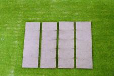 150mm x 50mm LASER CUT MDF 2mm Wooden Bases for Wargames