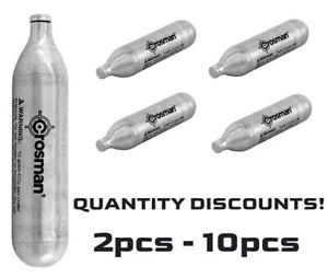 Crosman CO2 Powerlet Cartridges Gun Gas Pellet Airsoft BB Pellet 12 Gram
