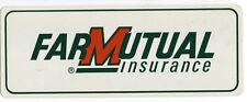 Farmutual Insurance Agriculture Farming Decal Sticker NOS
