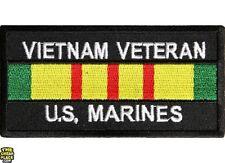 "Vietnam Veteran United States Marine Corp Patch 4"" x 2"" Free Shipping P1128"