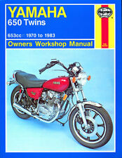 0341 Haynes Yamaha 650 Twins (1970 - 1983) Workshop Manual