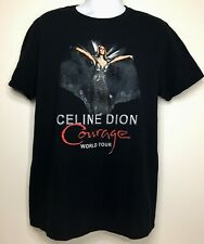 Celine Dion Double Sided Courage Rare 2020 Concert Xl T-Shirt