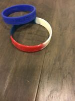 1 George Bush Cheney And 1 USA 04 Baller Bands Wristbands President Wrist Band
