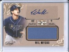 2014 Topps Triple Threads WIL MYERS Autograph /25 Signature Jersey Card Auto SP