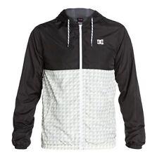 (Taglia XL) Giacca A Vento Uomo DC Shoes Rob Dyrdek Select Jacket Bianco Nero