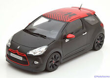 1:18 Norev Citroen DS3 Racing Sebastian Loeb 2012 flatblack/red