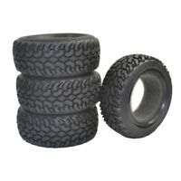 4pcs 1:10 4WD RC Rally Car Rubber Tires for Traxxas Tamiya HPI Kyosho HSP