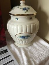 NEW limited edition  Royal Albert MOONLIGHT ROSE  Fine China Biscuit Cookie Jar!