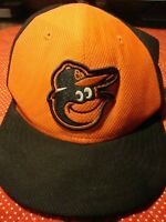 New Era Baltimore Orioles Black/Orange Road MLB 150th Anniversary Authentic  235