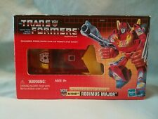 Transformers G1 Commemorative Series I Rodimus Major Hasbro 2002 Opened