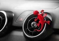 Genuine Audi Fragrance RED Gecko Air Freshener Dispenser Aromatic Scent fresh