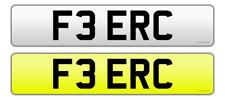 F3 ERC.     Calling ERIC. Cherished plate.