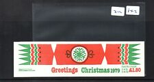 GB - Stamp Booklet - (312)  FX2 - £1.80  - Christmas 1979-  1 booklet