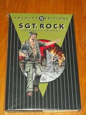 DC ARCHIVE EDITIONS SGT. ROCK VOL 1 OUR ARMY AT WAR #68, 81-96 HB GN 1563898411