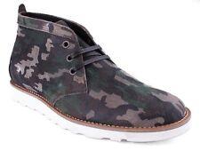 WeSc Lawrence Mid Top in Walnut Camo Shoes 8.5 US 41 EUR NIB