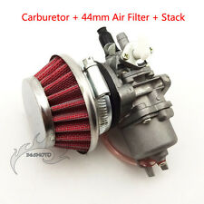 Carby Carburetor Air Filter Stack For 47cc 49cc Mini Quad ATV Pocket Dirt Bike