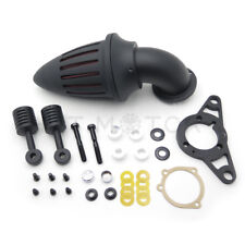 Black Bullet Air Cleaner Filter For Harley Softail Fat Boy Dyna Street Bob Wide